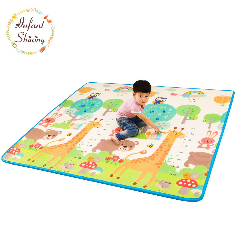 Baby Play Mat Floor Xpe 2cm Thick Foam Carpet Crawling Pad