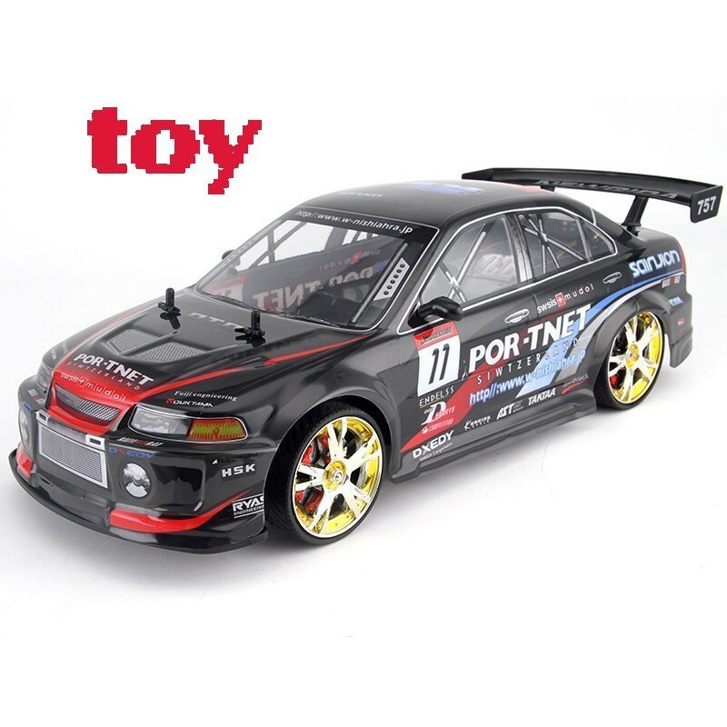 selling HOT High Speed Car For children 2.4G 4WD Radio remote Control Sport Drift Racing Electronic Toy giochi bambini NEW large rc car 1 10 high speed racing car for mitsubishi championship 2 4g 4wd radio control sport drift racing electronic toy