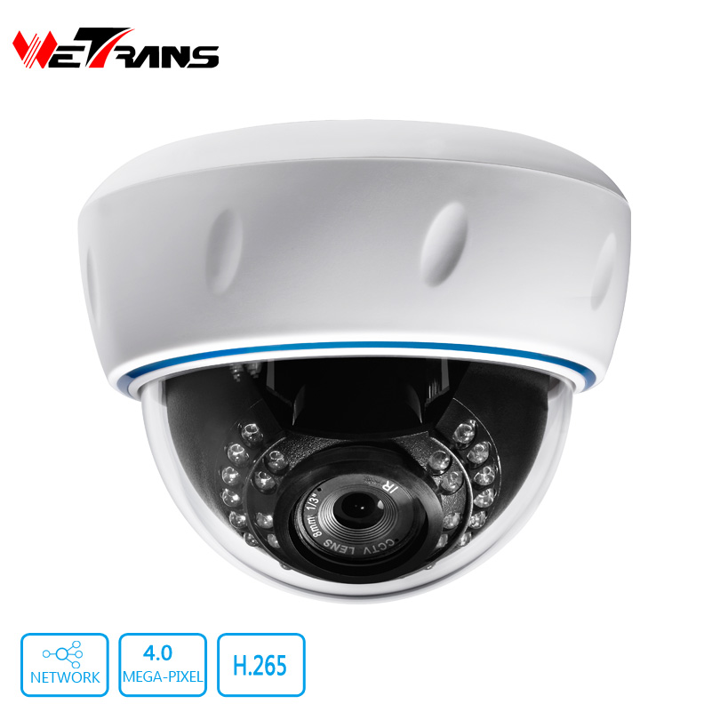 ФОТО IP Camera Indoor Dome 2.8-12mm Varifocal Lens 4.0MP H.264 Optional POE 20m Night Vision Infrared Surveillance Security HD Camera
