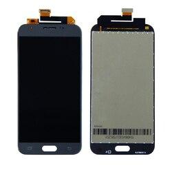 Darmowa wysyłka do Samsung Galaxy J3 Prime 2017 J327 J327A J327P J327T1 J327V J327T wyświetlacz LCD montaż digitizera ekranu dotykowego