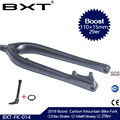 BXT горный велосипед с полностью карбоновой рамой вилка Boost 110*15 мм 29er горный велосипед вилка 29