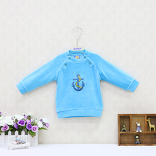 Blouse Clothing Baby And Velour Long-Sleeve Christmas Autumn Girls Double-Breasted Boys