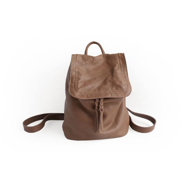 dea7a736c3828 Vendnage original handmade skórzany plecak mody przypadkowa kobieta torba  retro pani torba 2274 S
