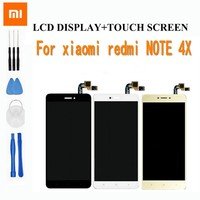LCD Display Digitizer Assembly For Xiaomi Redmi Note 4x 5 5 Inch 1920 1080 For