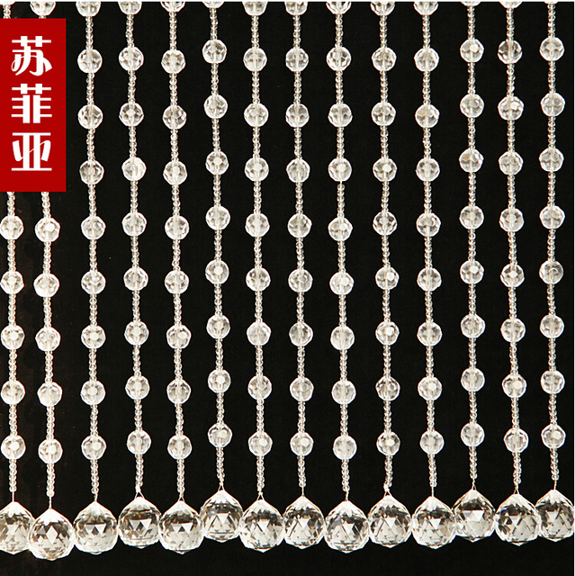 Freeshipping full wearing crystal bead curtains for hotel office or freeshipping full wearing crystal bead curtains for hotel office or home decor hanging door beads teraionfo