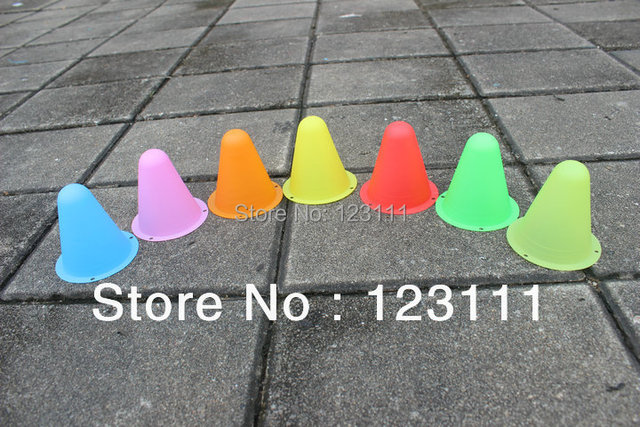 Agility Training Maker Cones for slalom roller skating/in-Line,freeline skate/rollerblade/snake board  Freestyle slalom pile cup