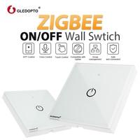 ZIGBEE wall switch AC100 240V Bulb dimmer zigbee led remote Smart Light Control work with zigbee APP gateway samrt phone control