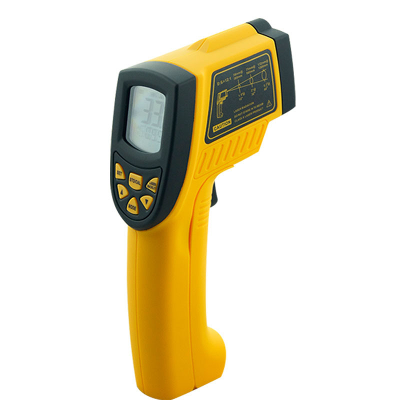 Non-contact Digital IR infrared thermometer Laser Infrared Thermometer AR862A+,Temperature -50~900C(-58~1652F) 2017 bside btm21c infrared thermometer color digital non contact ir laser thermometer k type 30 500 led