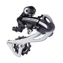 SHIMANO Acera M360 RD 3×7 S 3×8 S Velocidad de Cambio Trasero MTB Mountain Bike