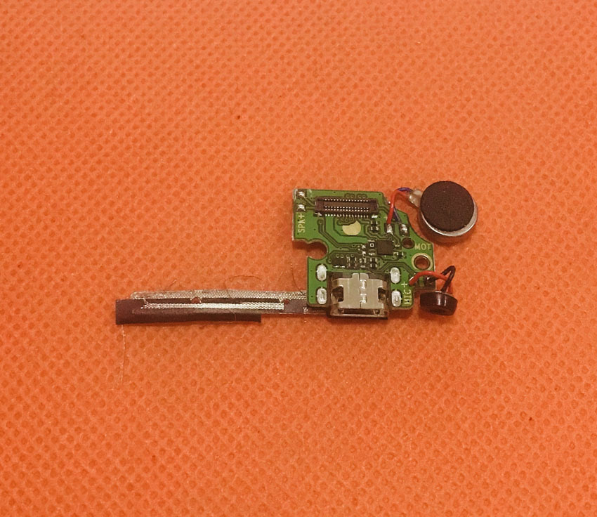 Used Original USB Plug Charge Board For Homtom HT37 Pro MTK6737 Quad Core 5.0 HD Free Shipping