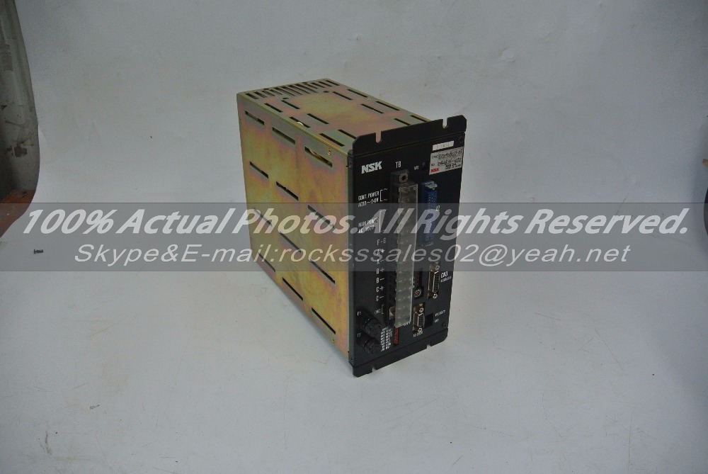 NSK servo driver amplifier EM0408C13-05 Used In Good Condition With Free DHL / EMS dhl ems used original a5e02503065 inverter power driver board in good condition