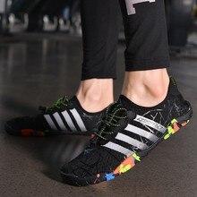 Five-Fingers Shoes Men Barefoot Slippers Socks Sports-Sneakers Fitness Swimming Summer
