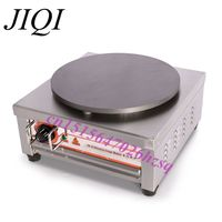JIQI Stainless steel Electric Crepe Maker Plate Grill Crepe Grill machine