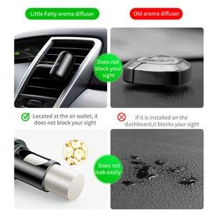Image 2 - Baseus Metal coche Perfume aire ambientador aromaterapia sólido para la salida de aire del coche ambientador aire acondicionado Clip difusor