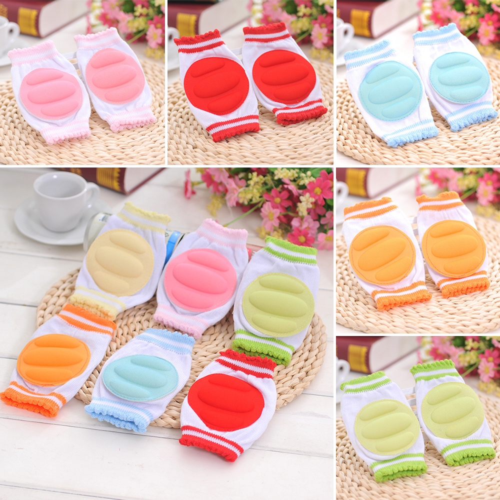 New 1 Pairs Baby infant leg Safety Crawling Elbow Cushion Infants Toddlers Baby Knee Pads Protector Leg Warmer for Baby Kneecap