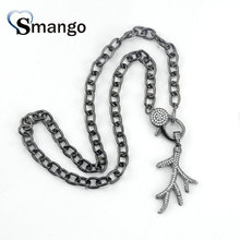 цены на Pop Charms,Fashion Jewelry ,The Tree Branch Shape Cubic Zirconia Pendant Necklace, Necklace Women, 3Pieces в интернет-магазинах