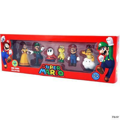 Super Mario Bros PVC Figure Collection Doll Series 2 6pcs/set Characters Nintendo Baby Gifts