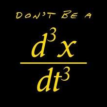 "Funny ""Don't Be A Jerk"" Math Equation T-shirt"