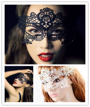 30pcs/lot Black Sexy Lady Lace Mask Eye for Masquerade Party Fancy Dress Costume / Halloween
