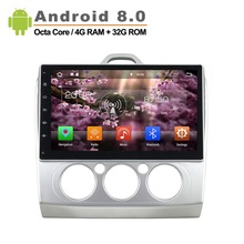 10 inch Android 8 0 Octa Core 1024 600 Fit Ford FOCUS Car GPS Navigation Radio