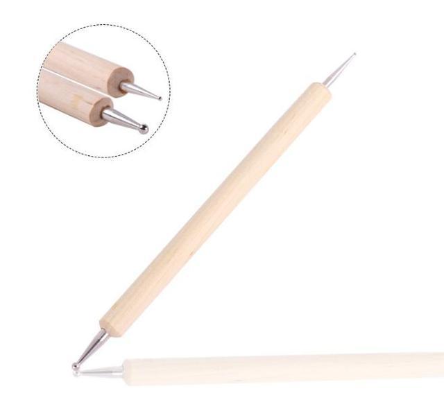 Aliexpress.com : Buy 1piece 2 Way Wooden Dotting Pen Marbleizing ...