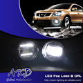One-Stop Shopping Estilo Do Carro LEVOU luz de Nevoeiro para Toyota venza Luz de nevoeiro com Lente de Alta Potência Cob DRL Diurna Automóvel luz