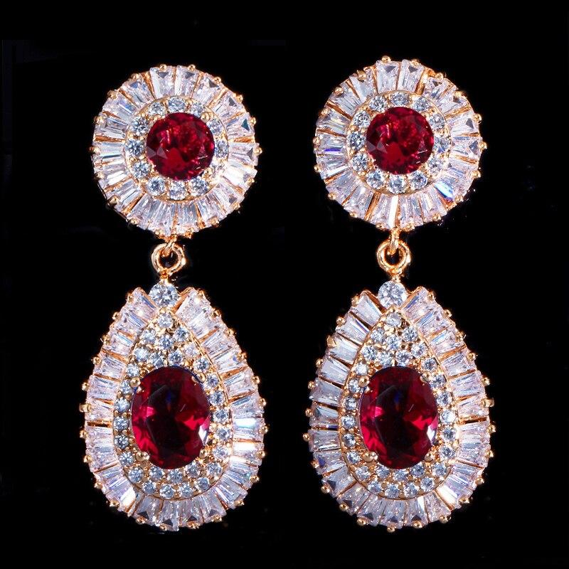 dubai gold earrings 9
