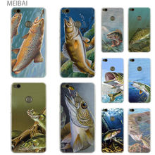 MEIBAI walleye fish Hard cover case for Huawei Honor 5c 9i 4c pro 6c pro 7x 7s 7a pro 8x 9 10 lite Honor 8 lite cover(China)