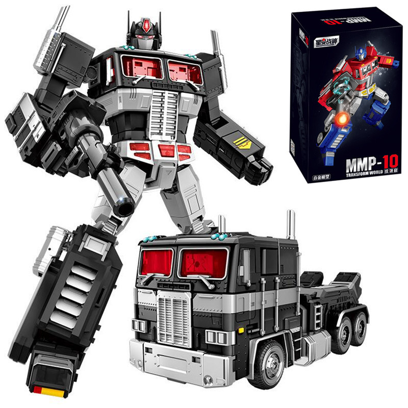 Yuexing MMP10 Transformation Toys boy Oversize 32CM G1 MPP10 red blue black Alloy Action Figure Robot