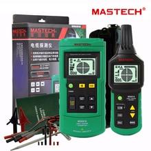 Портативный профессиональный кабельный трекер Mastech MS6818, локатор для металлических труб, тестер, линейный трекер, напряжение 12 ~ 400 В