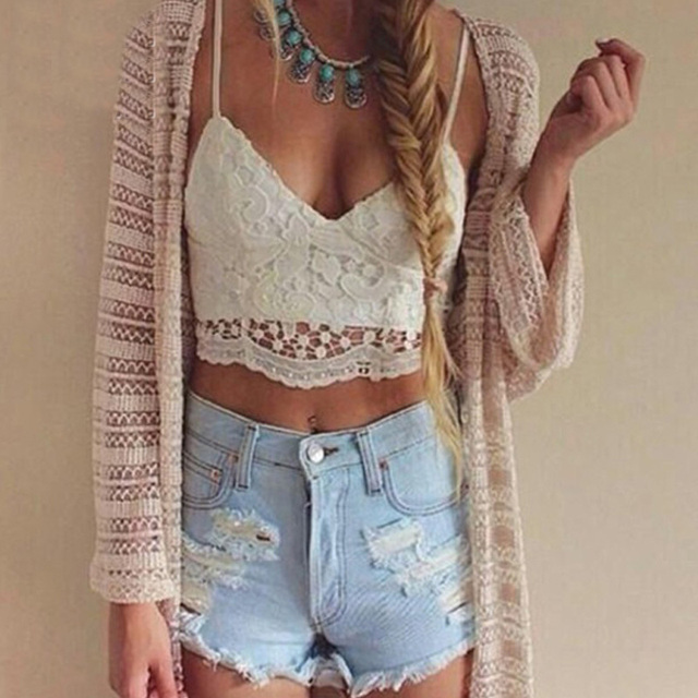 """FLORAL SPAGHETTI"" cropped top"