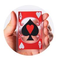 Transparent Poker 100 PVC Plastic Playing Cards Chinese Style Peking Opera Poker Cards Poker Set Limited