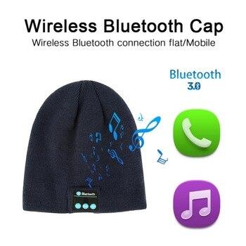 EDAL auriculares Bluetooth música Warm Beanie Bluetooth 3 fdda90d4739