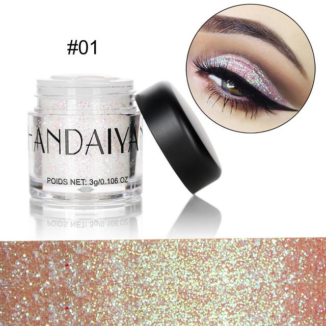 Colourful Shiny Lipstick & Eyeshadow Powder
