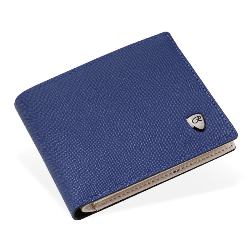Men Short Wallets Bifold Purse PU Leather Brand Male Clutch Credit Card Holder Zipper Coin Pocket Luxury Business Slim Purses