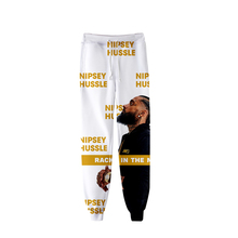 2019 New 3D Rep nipsey hussle pants Print Casual Spring/summer Jogger Pants Women/men Slim Cool hot sale