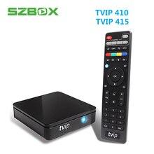 TVIP 410 TVIP 415 2018 Melhor Linux ou o Android 6.0 Caixa De TV Amlogic S805 Smart TV Box Suporte de Fixação 250 254 Iptv Portal Stalker