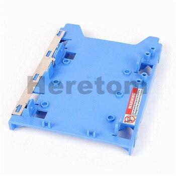 "100pcs/lot drive HDD SSD caddy bracket Rail for Dell Optiplex Precision 3.5"" to 2.5"" F767D J132D R494D adapter tray"
