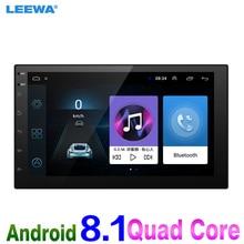 LEEWA новый 7 дюймов Ultra Slim Android 8,1 автомобилей Медиаплеер с радио gps-навигатор для Nissan/hyundai все 2DIN ISO размеры автомобиля автомагнитола