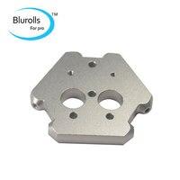 3D printer accessories aluminum all metal M3 delta Kossel fisheye effector aluminum CNC Metal cyclop/Chimera effector