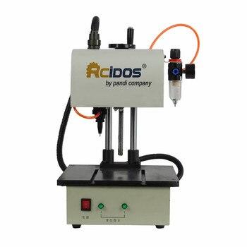 RCIDOS 90x120mm automatic pneumatic marking machineN,P912 aluminum coding machine,label printer,metal parts engraving machine