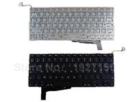 FR French Keyboard For APPLE Macbook Pro A1286 BLACK For 2008 For Backlit Azerty Laptop Keyboards