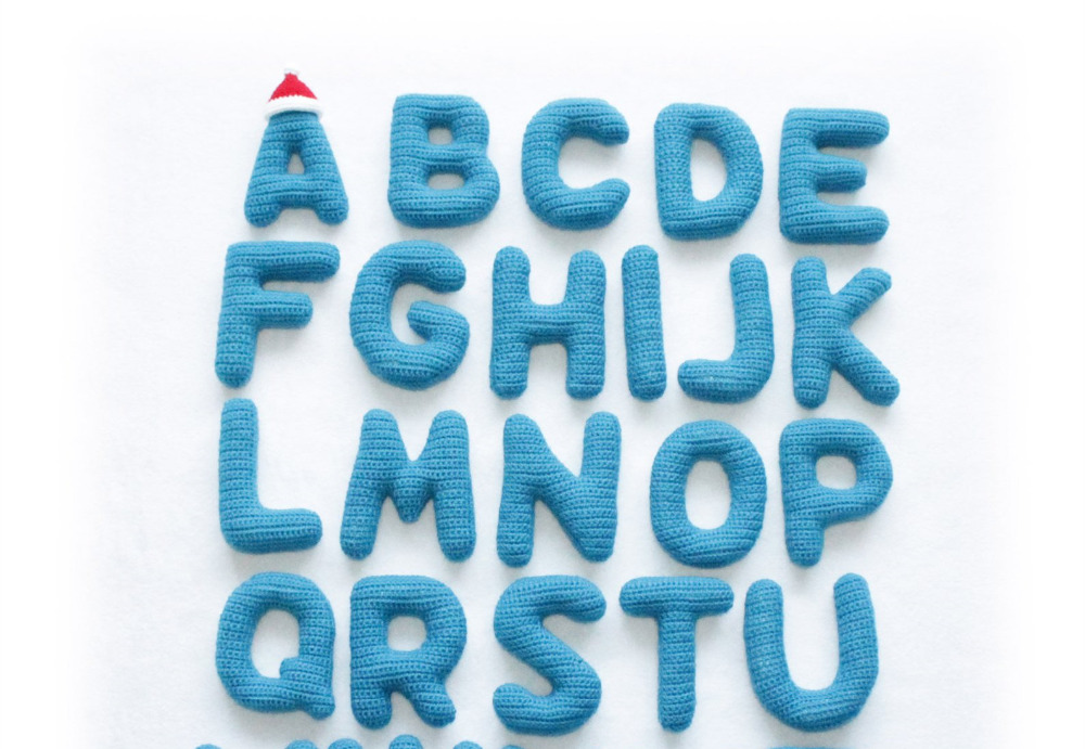 Crochet Toys  Amigurumi  Handmade    Rattle  Letter   Number  JSZ0016