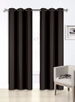 Blackout Curtains Room Darkening Thermal Insulated Grommet Drapes for Bedroom 2 Panel