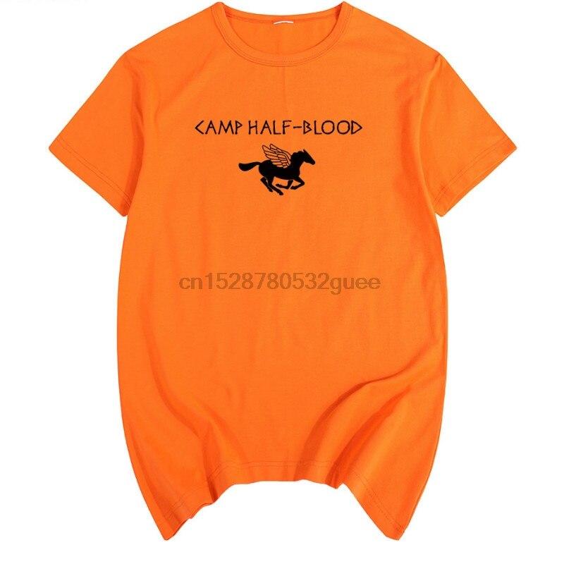 Camp Half Blood Percy Jackson Summer Print T Shirt Cotton Men T Shirt New Women Tee Fashion Casual Funny Long Island Sound