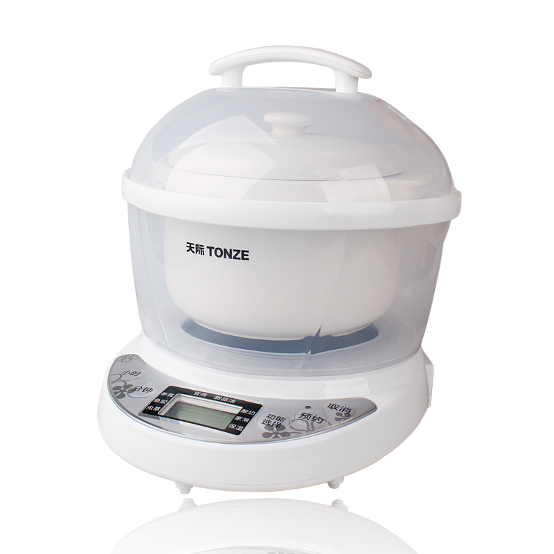 Microcomputer Control Slow Cookers Bird's Nest Stewing Pot Dedicated Water Stew Pot Ceramic Mini Cooking Machine White cukyi automatic electric slow cookers purple sand household pot high quality steam stew ceramic pot 4l capacity