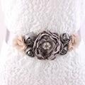 4 Colors Maternity Sash Belt Bridesmaid Accessory Photo Prop Baby Shower Newborn Flower Sash Bridal Wedding Accessories