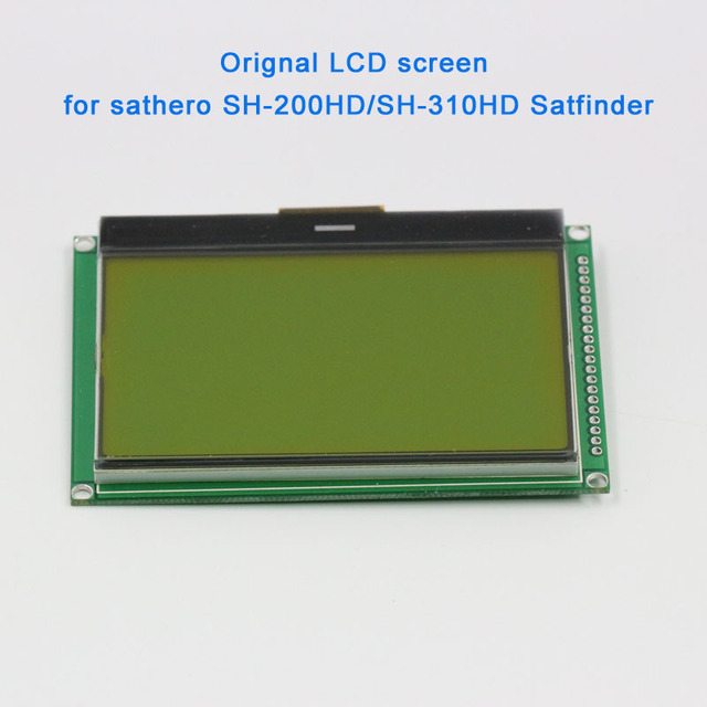100% New Original sathero professional accessories lcd screen for SH 200HD SH 300HD SH 310HD digital satellite finder