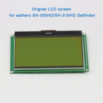 Tüketici Elektroniği'ten Görüntüleme Ekranı'de 100% Yeni Orijinal sathero profesyonel aksesuarları lcd ekran SH 200HD SH 300HD SH 310HD dijital uydu bulucu