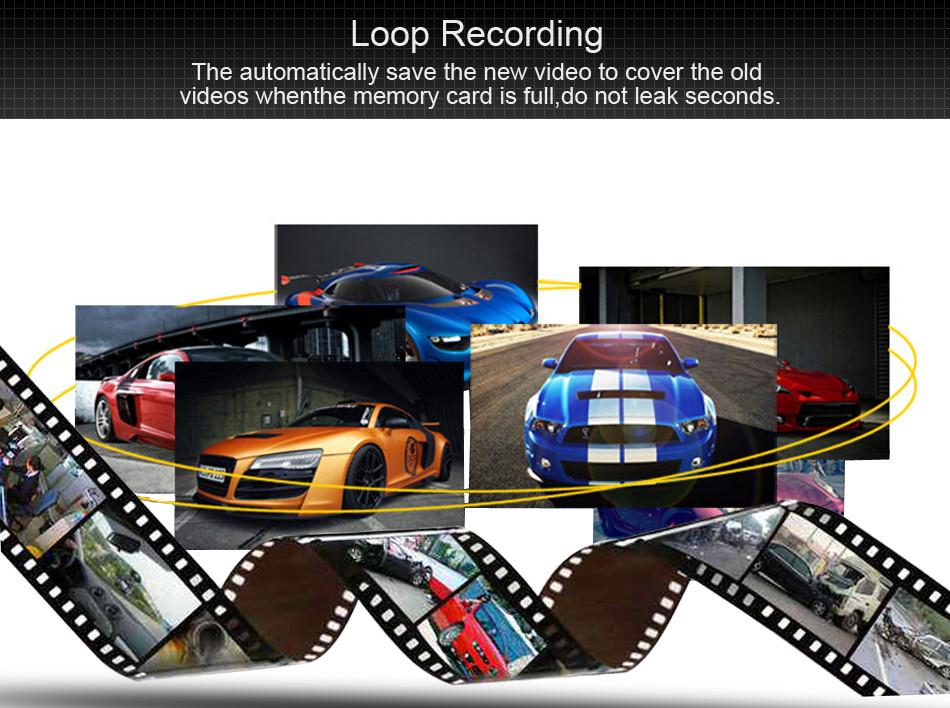 SKydot 3 Inch Mini Car Dvr Dash Cam Full HD 1080P Vehicle Camera Camcorder 170 Degree Night Vision G-Sensor Digital Video Recorder13